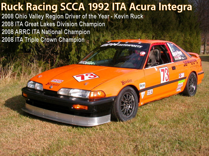 Ruck Racing 1992 ITA Integra